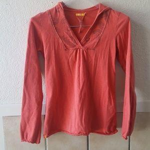 Lole organic cotton lightweight sweatshirt size xs